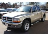2004 Light Almond Pearl Metallic Dodge Dakota SLT Quad Cab 4x4 #63384320