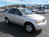 2009 Bright Silver Kia Sorento LX 4x4 #63383629
