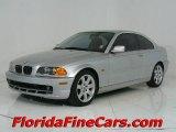 2001 Titanium Silver Metallic BMW 3 Series 325i Coupe #544005
