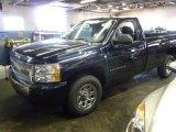 2008 Dark Blue Metallic Chevrolet Silverado 1500 Work Truck Regular Cab #63383607