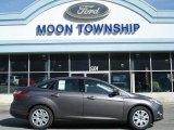 2012 Sterling Grey Metallic Ford Focus SE Sedan #63383960