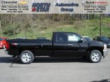 2012 Black Chevrolet Silverado 1500 LT Extended Cab 4x4 #63383936