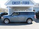 2010 Steel Blue Metallic Ford Flex Limited AWD #63451238