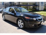 2009 Crystal Black Pearl Acura TSX Sedan #63450536