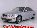 2001 Titanium Silver Metallic BMW 3 Series 330i Coupe #543875