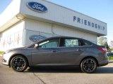 2012 Sterling Grey Metallic Ford Focus Titanium Sedan #63450512