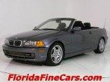 2001 Steel Grey Metallic BMW 3 Series 330i Convertible #543822
