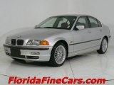 2001 Titanium Silver Metallic BMW 3 Series 330i Sedan #543812