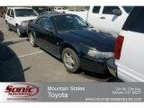 2003 Black Ford Mustang V6 Convertible #63450389