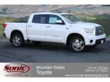 2012 Super White Toyota Tundra Limited CrewMax 4x4 #63450374