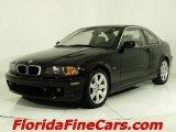 2001 Jet Black BMW 3 Series 325i Coupe #543811
