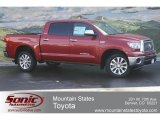 2012 Barcelona Red Metallic Toyota Tundra Platinum CrewMax 4x4 #63450370