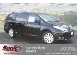 2012 Black Toyota Sienna Limited AWD #63450354