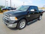 2012 Black Dodge Ram 1500 Laramie Longhorn Crew Cab 4x4 #63451027