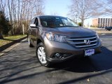 2012 Polished Metal Metallic Honda CR-V EX-L 4WD #63451008