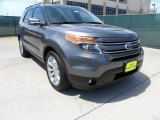 2013 Sterling Gray Metallic Ford Explorer Limited #63450685