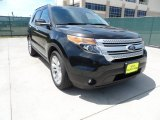 2013 Tuxedo Black Metallic Ford Explorer XLT #63450684