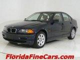 2001 Orient Blue Metallic BMW 3 Series 325i Sedan #543810