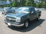 2003 Dark Green Metallic Chevrolet Silverado 1500 LS Regular Cab #63450983