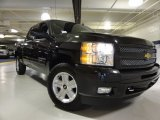 2010 Black Granite Metallic Chevrolet Silverado 1500 LT Crew Cab 4x4 #63450663