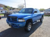 2001 Intense Blue Pearl Dodge Ram 1500 SLT Club Cab 4x4 #63450649