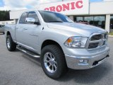 2011 Bright Silver Metallic Dodge Ram 1500 Big Horn Quad Cab 4x4 #63450641