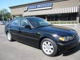 2002 Jet Black BMW 3 Series 325i Sedan #63516727