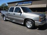 2006 Graystone Metallic Chevrolet Silverado 1500 LT Crew Cab #63516724