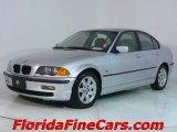 2000 Titanium Silver Metallic BMW 3 Series 323i Sedan #544123