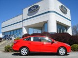 2012 Race Red Ford Focus SE Sedan #63516400