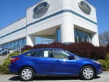 2012 Blue Candy Metallic Ford Focus SE Sedan #63516399