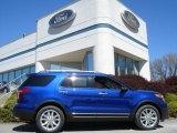 2013 Deep Impact Blue Metallic Ford Explorer XLT 4WD #63516398