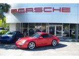 2008 Guards Red Porsche 911 Carrera S Coupe #63516552