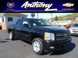 2012 Black Chevrolet Silverado 1500 LT Crew Cab 4x4 #63516699