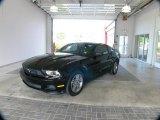 2011 Ebony Black Ford Mustang V6 Premium Coupe #63516698