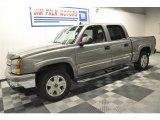 2006 Graystone Metallic Chevrolet Silverado 1500 Z71 Crew Cab 4x4 #63516688