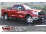2012 Barcelona Red Metallic Toyota Tundra Double Cab 4x4 #63516318
