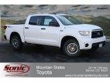 2012 Super White Toyota Tundra TRD Rock Warrior CrewMax 4x4 #63516311