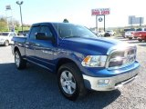 2011 Deep Water Blue Pearl Dodge Ram 1500 Big Horn Quad Cab 4x4 #63516604