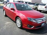 2010 Sangria Red Metallic Ford Fusion SEL V6 #63516442
