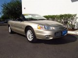 2002 Light Almond Pearl Metallic Chrysler Sebring LXi Convertible #63549039