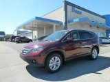 2012 Basque Red Pearl II Honda CR-V EX-L 4WD #63549109