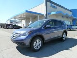 2012 Twilight Blue Metallic Honda CR-V EX 4WD #63549108