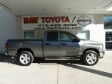 2008 Mineral Gray Metallic Dodge Ram 1500 Big Horn Edition Quad Cab 4x4 #63549063