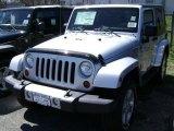 2012 Bright Silver Metallic Jeep Wrangler Sahara 4x4 #63554569