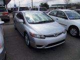 2007 Alabaster Silver Metallic Honda Civic Si Coupe #63554504