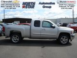 2012 Silver Ice Metallic Chevrolet Silverado 1500 LT Extended Cab 4x4 #63554753