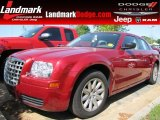 2008 Inferno Red Crystal Pearl Chrysler 300 LX #63554716