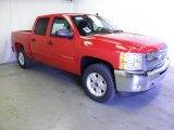 2012 Victory Red Chevrolet Silverado 1500 LT Crew Cab 4x4 #63596044