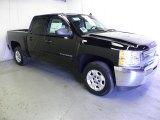 2012 Black Chevrolet Silverado 1500 LT Crew Cab #63596043